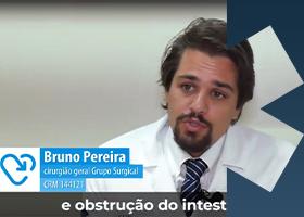 Imagem Dr. Bruno Pereira comenta sobre Obstrução Intestinal no TV Doutor