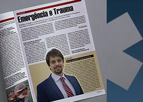 Imagem Grupo Surgical em foco na Revista Emergência